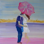 The Umbrella Kiss Acrylics