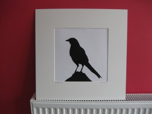 The Magpie blk mounted