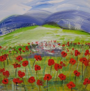 South Downs Poppies 1