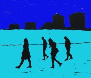 brighton beach blue and blue