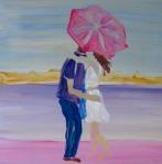 The Umbrella Kiss 11x11cm