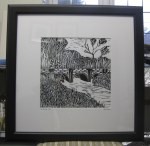 Framed Linocuts (7)