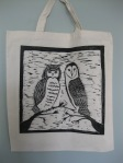 Owl Love Birds Tote Bags (3)