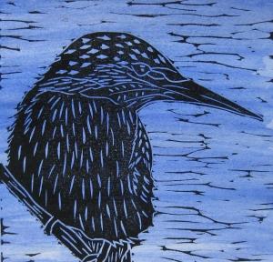 Kingfisher blue