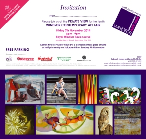 PV Invite to Windsor Contemporary Art Fair