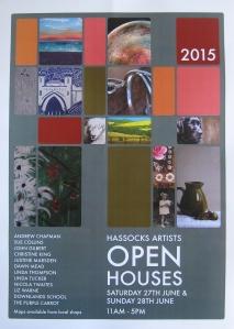 Hassocks Open Houses Poster