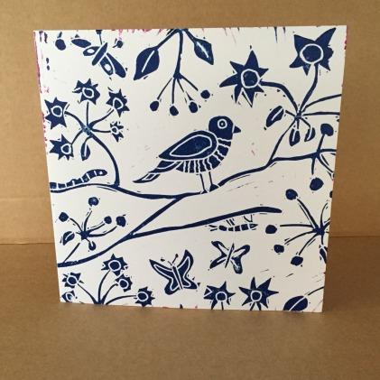blue print card