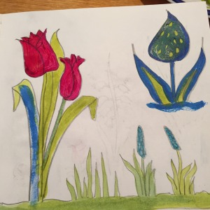 Sketch book flowers 4