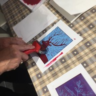 linoprint workshop 1