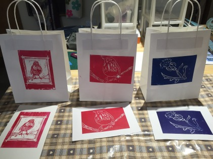 linoprint workshop 3